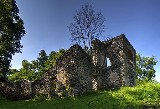 St John's ruins at Harpers Ferry by Greg Reed