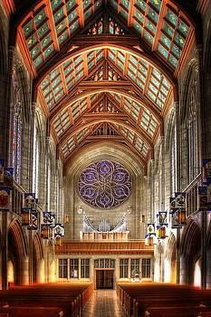 St. John's Sanctuary rear pipes by Dan Quam