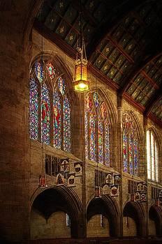 St. John's sanctuary  south wall by Dan Quam