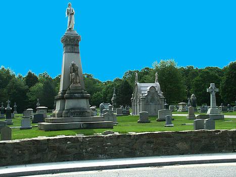 St Joseph Cemetery by Geoffrey McLean