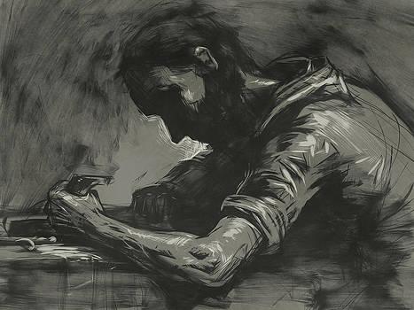 St Joseph the Worker by David Leiberg