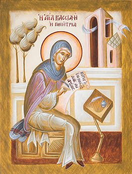 St Kassiani the Hymnographer by Julia Bridget Hayes