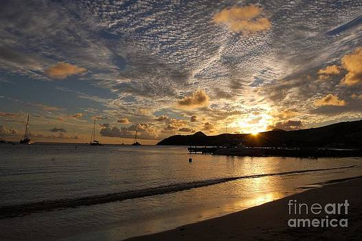 St. Kitts Sunset by Nicole Markmann Nelson