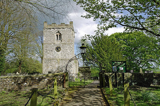 St Leonard's Church - Thorpe - Derbyshire by Rod Johnson