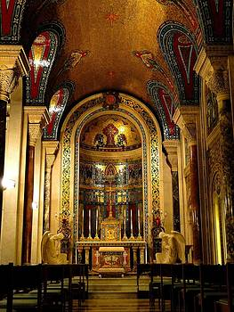 St Louis Cathedral Basilica by Cindy Croal