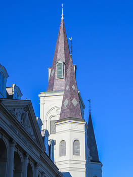St. Louis Cathedral No.1 by Brian Preuss