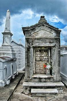St. Louis Cemetery Vault by Christy Phillips