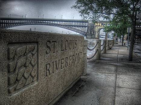 St. Louis Riverfront by Jane Linders