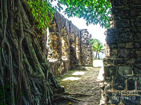 Gregory Dyer - St Lucia - Ruins - 05