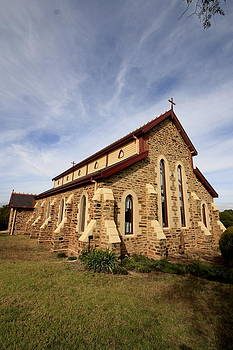 St Lukes Anglican Church Gulgong by Ian  Ramsay