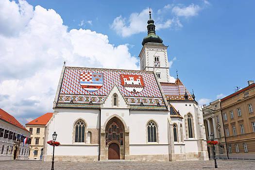 St Mark's church by Borislav Marinic