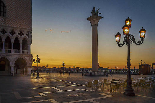St Marks Square by Alex Saunders