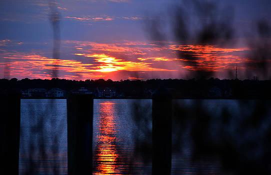 Bill Swartwout Fine Art Photography - St. Marten River Sunset