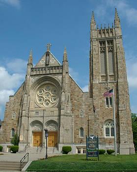St. Mary's Church by Geoffrey McLean