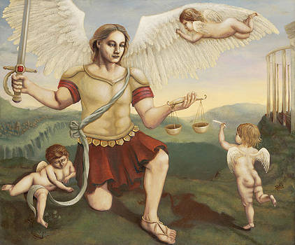 St. Michael the Archangel by Shelley Irish