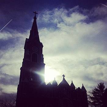 St. Michael's In Old Town by Katie Basil