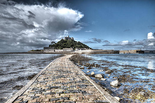 St Michael's Mount Cornwall by Paula Connelly