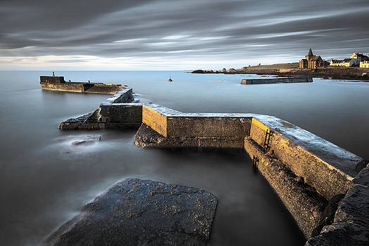 St Monans Dawn by Dave Bowman