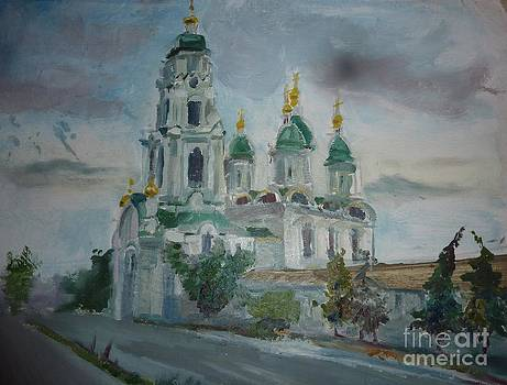 St. Nicholas Church Gate   by Victoria  Tekhtilova