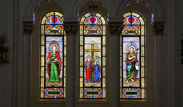 Laurie Perry - St. Nicholas Window