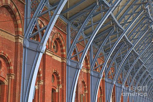 St Pancras in London by Julian Elliott