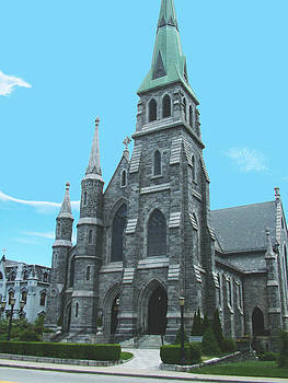 St Patrick Cathedral by Geoffrey McLean