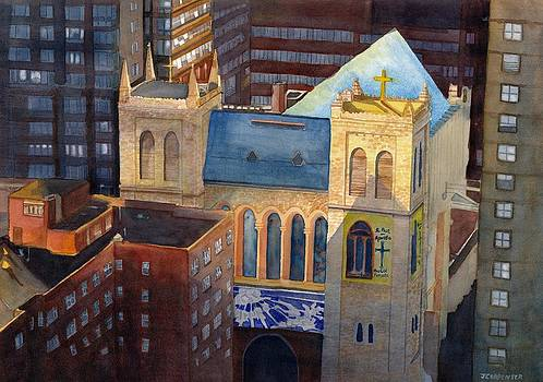 St Pauls NYC by Gerald Carpenter