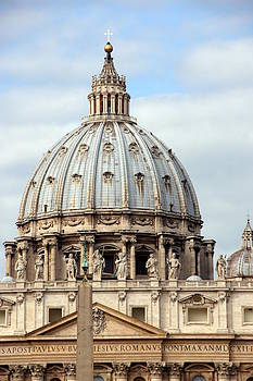 St. Peters Basilica by Debi Demetrion