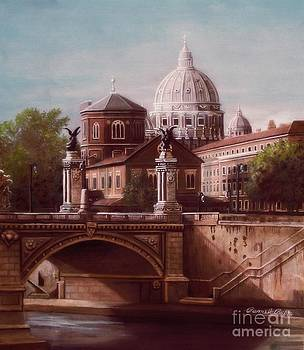 St. Peter's Basilica  by Pamela Roehm