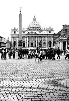 St. Peter's Square  by Natalya Karavay