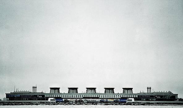 St. Petersburg. Airport by Sergey Kireev