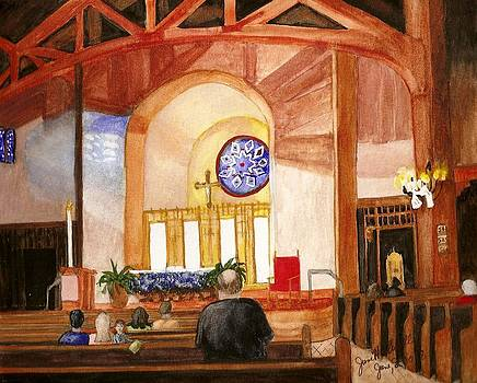 St. Raphaels - Early Morning Prayers by June Holwell