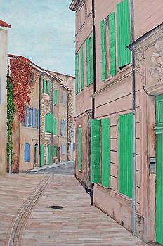 St. Remy de Provence by Steven Fleit