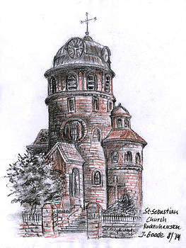 St. Sebastian Church by Jana Goode