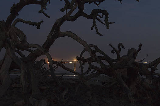 St Simons Light Pre-dawn by Jim Ziemer