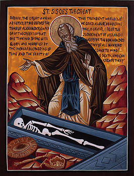 St. Sisoes the great by Fr Barney Deane