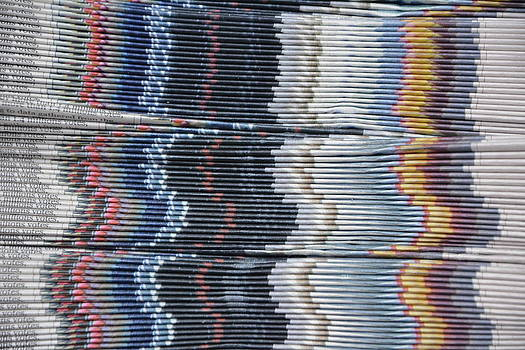 Stack of Newspapers by Lisa Lieberman