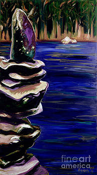 Stacked Rocks 1 by Phil Hawn