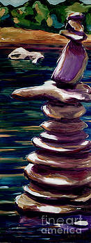 Stacked Rocks 2 by Phil Hawn