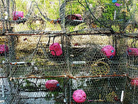 Randi Kuhne - Stacks of Crab Traps