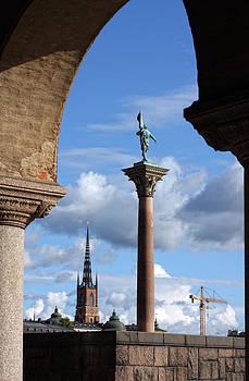 Stadshuset arch view by Alex Sukonkin