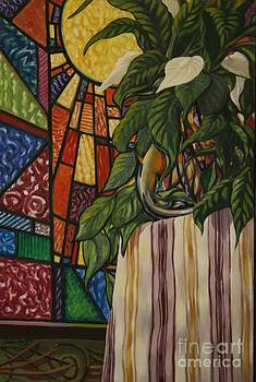 Stain Glass Still Life by John Knotts