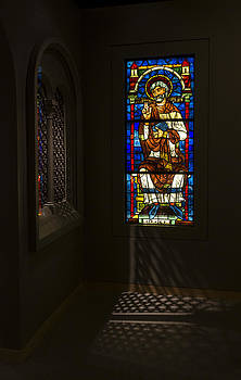 Stained Glass and Shadows by Steve Rosenbach