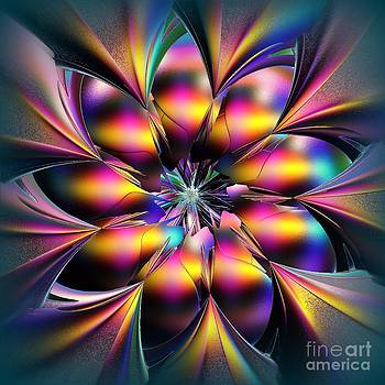 Greg Moores - Stained Glass Flower