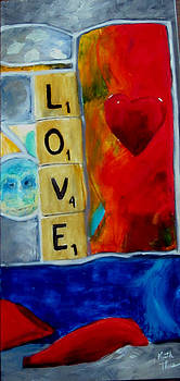 Stained Glass Love by Keith Thue