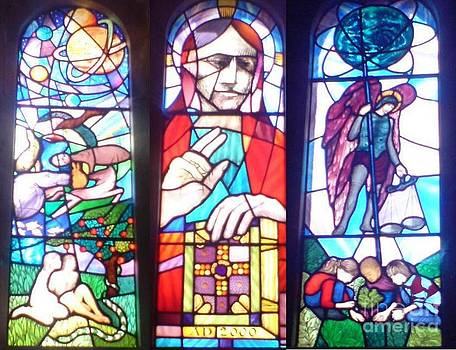 Stained glass window by John Williams