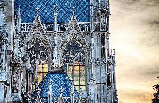 Stained Glass Windows of Votive Church by Viacheslav Savitskiy