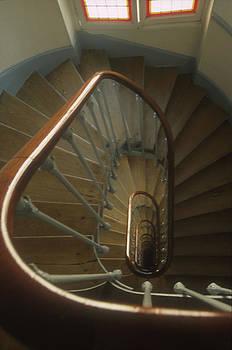 Harold E McCray - Staircase -- Paris II
