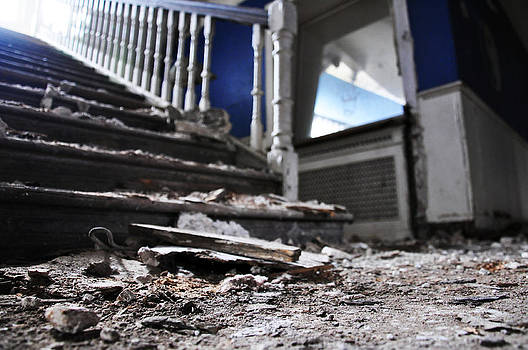 Staircase Rubble by Quirky Jen Photos