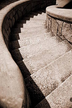 Stairs At Maymont by Floyd Menezes